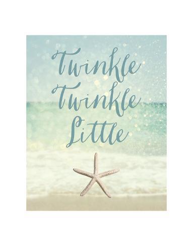 Twinkle Twinkle Little Star(fish) Reproduction d'art