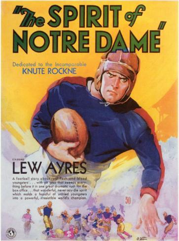 Spirit of Notre Dame Affiche originale