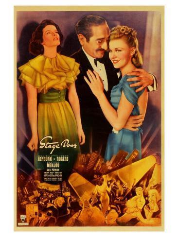 Stage Door, 1937 Reproduction giclée Premium