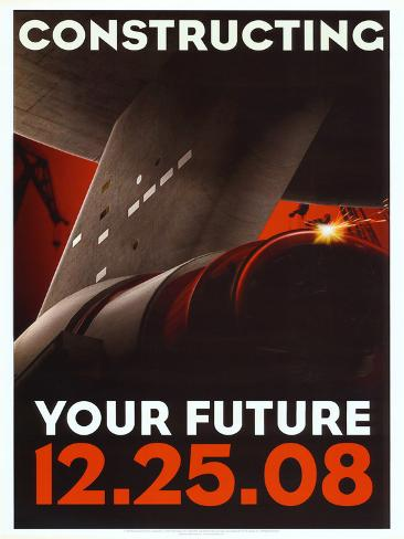Star Trek Movie Constructing Your Future Poster Print Mini-affiche