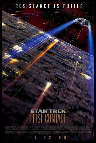 Star Trek: Premier contact Poster