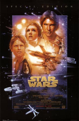 Star wars / La Guerre des étoiles Poster