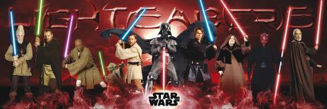Star Wars-Lightsabers Poster