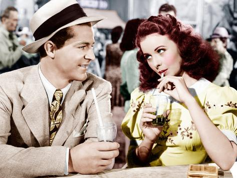 State Fair, Dana Andrews, Jeanne Crain, 1945 Photographie