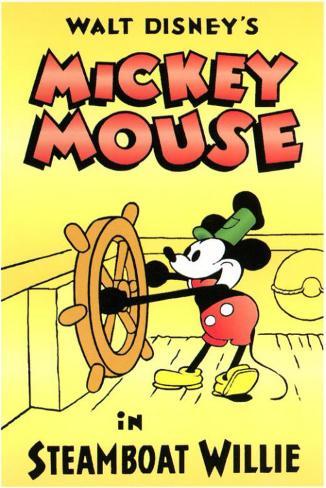 Steamboat Willie Affiche originale