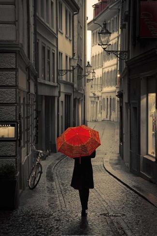 Red Rain Reproduction d'art