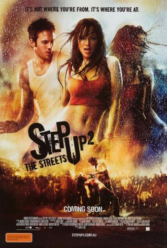 Step Up 2: The Streets - Australian Style Poster