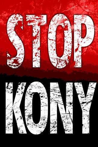 Stop Joseph Kony 2012 Political Poster Poster