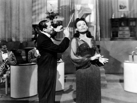 Stormy Weather, Cab Calloway, Lena Horne, 1943 Photographie