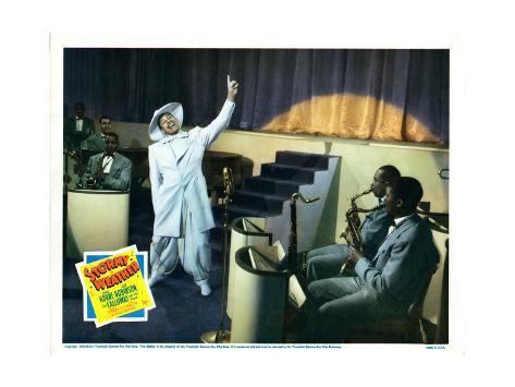 Stormy Weather, Cab Calloway (White Suit), 1943 Reproduction procédé giclée
