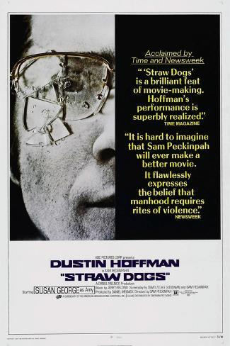 Straw Dogs, Dustin Hoffman, 1971 Reproduction d'art