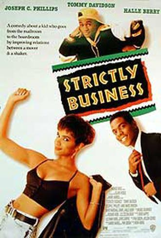 Strictly Business Affiche originale