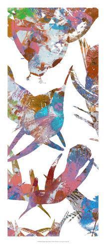 Bright Flight Birds V Reproduction d'art