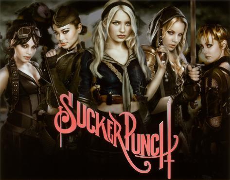 Sucker Punch - Group Affiche originale