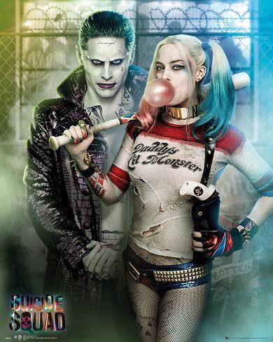 Suicide Squad- Joker & Harley Quinn Mini-affiche