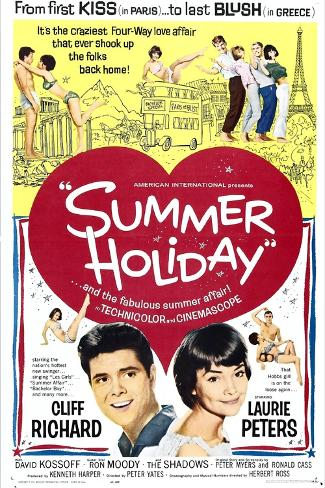 Summer Holiday Reproduction d'art