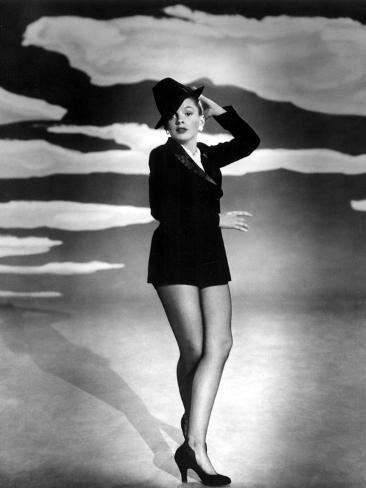 Summer Stock, Judy Garland, 1950 Photographie
