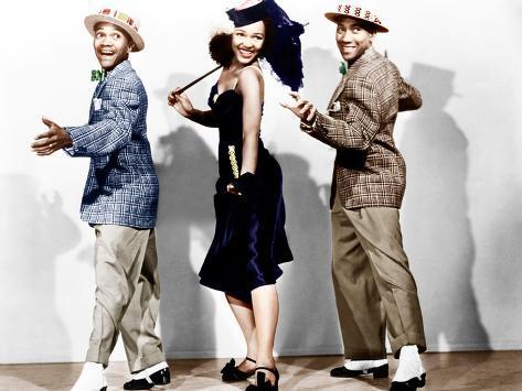 Sun Valley Serenade, Harold Nicholas, Dorothy Dandridge, Fayard Nicholas Photographie