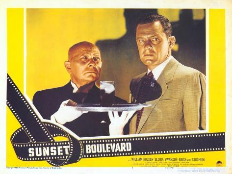Sunset Boulevard, 1950 Reproduction d'art