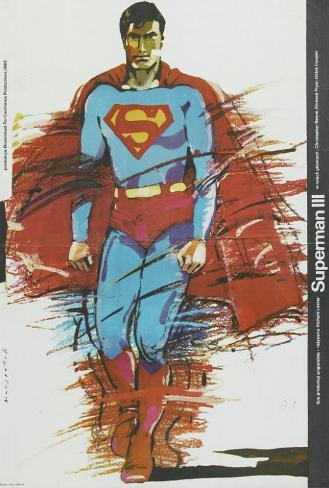 Superman 3 - Polish Style Poster