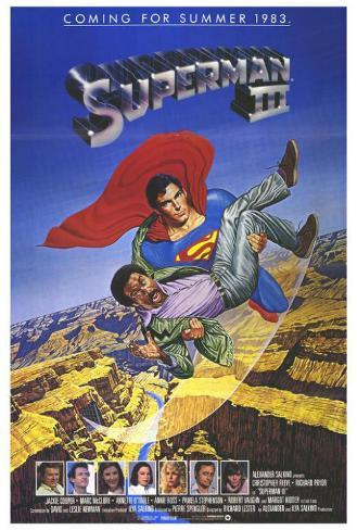 Superman 3 Poster