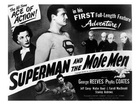 Superman And the Mole Men, Phyllis Coates, George Reeves, 1951 Photographie