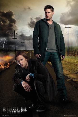 Supernatural- Hunt With Dean & Sam Poster