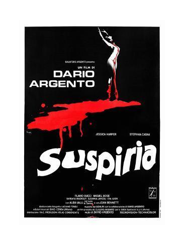 Suspiria, 1977 Reproduction procédé giclée