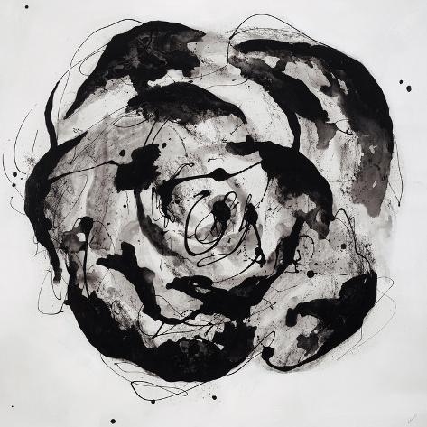Black and White Bloom II Reproduction procédé giclée