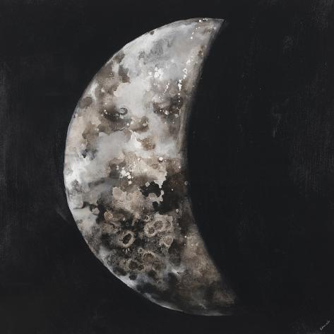 New Moon I Reproduction procédé giclée