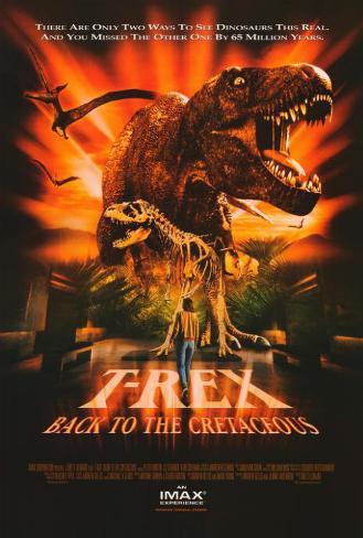 T-Rex: Back to the Cretaceous (IMAX) Affiche originale