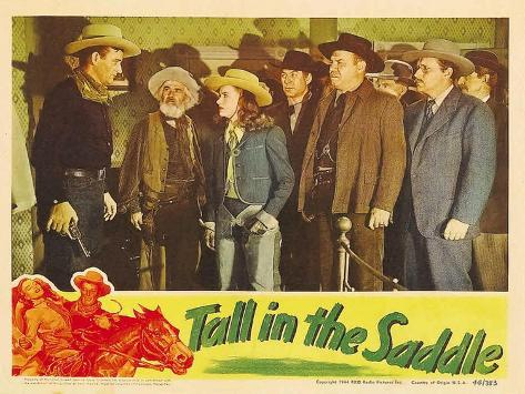 Tall in the Saddle, 1944 Reproduction giclée Premium