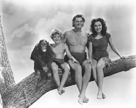 Tarzan trouve un fils Photographie
