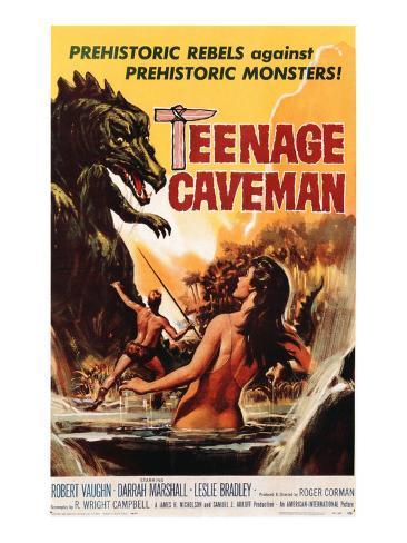 Teenage Caveman, 1958 Photographie