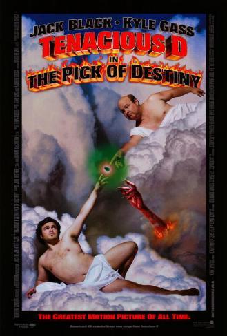 Tenacious D in: The Pick of Destiny Affiche originale