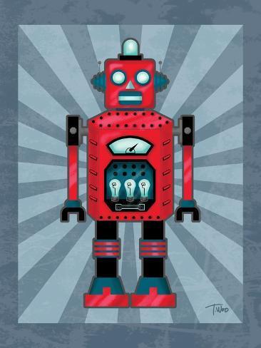 Robot II Reproduction d'art