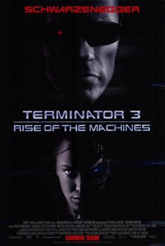 Terminator 3 : le soulèvement des machines Affiche originale