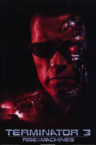 Terminator3: le soulèvement des machines Affiche originale