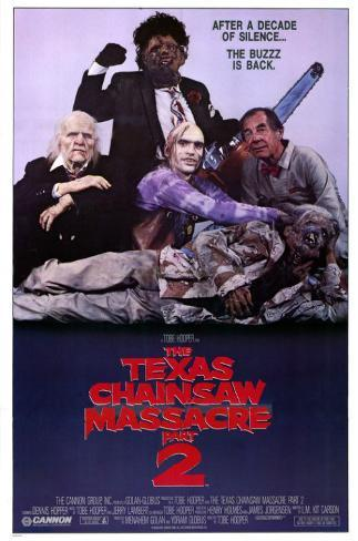 Texas Chainsaw Massacre 2 Affiche originale
