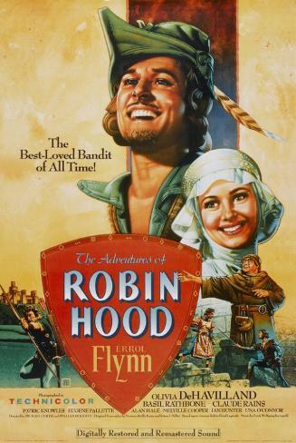 The Adventures of Robin Hood Affiche originale