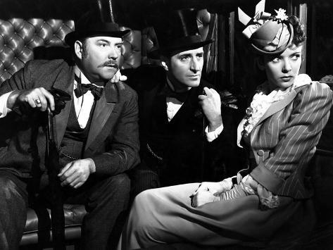The Adventures Of Sherlock Holmes, Nigel Bruce, Basil Rathbone, Ida Lupino, 1939 Photographie