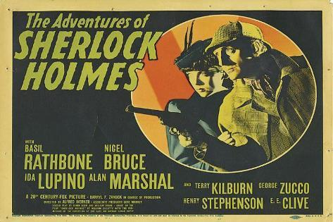 The Adventures of Sherlock Holmes Affiche originale