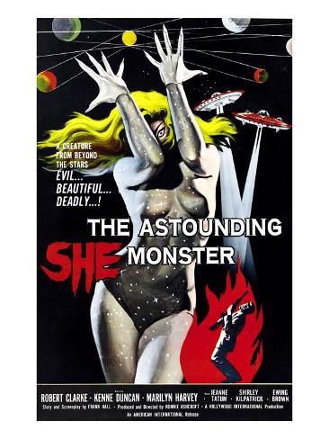 The Astounding She-Monster, 1957 Photographie