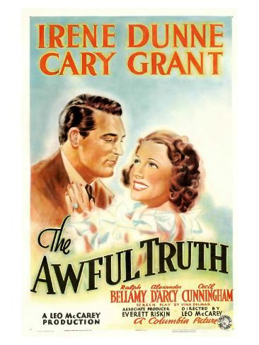 The Awful Truth, 1937 Reproduction d'art