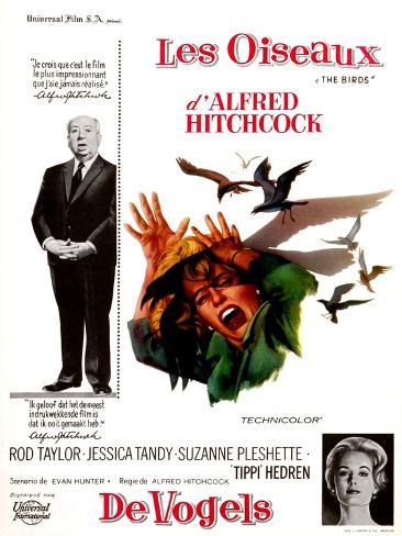The Birds, Tippi Hedren, Alfred Hitchcock, 1963 Photographie