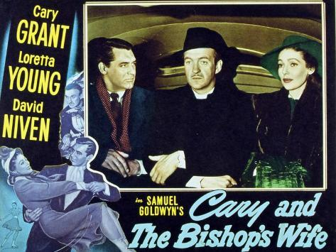 The Bishop's Wife, 1947 Reproduction giclée Premium