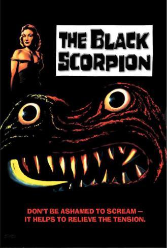 The Black Scorpion Poster