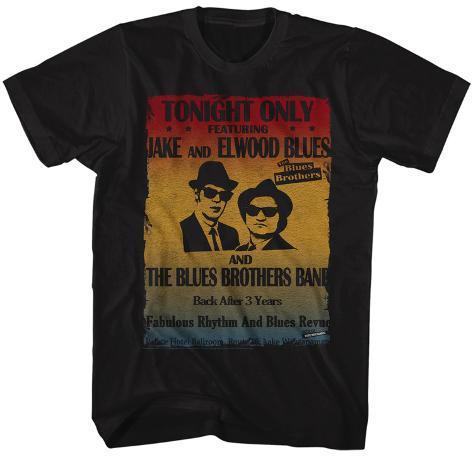 The Blues Brothers- Jake & Elwood Headshot Poster T-shirt