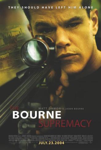 The Bourne Supremacy Affiche originale