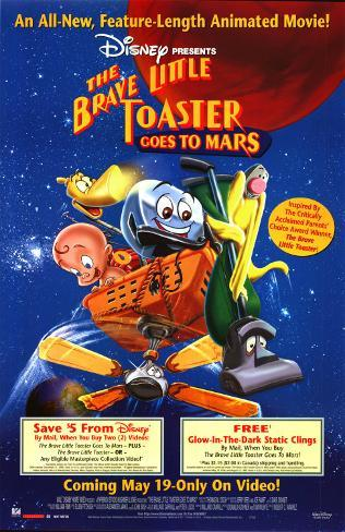 The Brave Little Toaster Goes to Mars (sortie vidéo) Poster